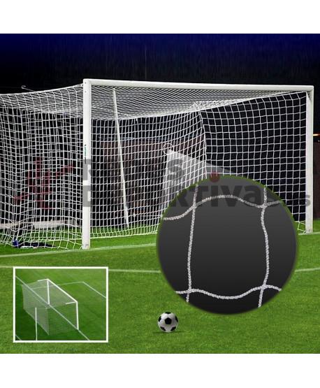 Red Fútbol 11 BASIC - AMATEUR 3 mm – Malla 100 mm. Tipo Cajón