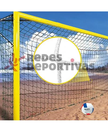 Red Fútbol Playa ADVANCED 3 mm – Malla 100 mm.