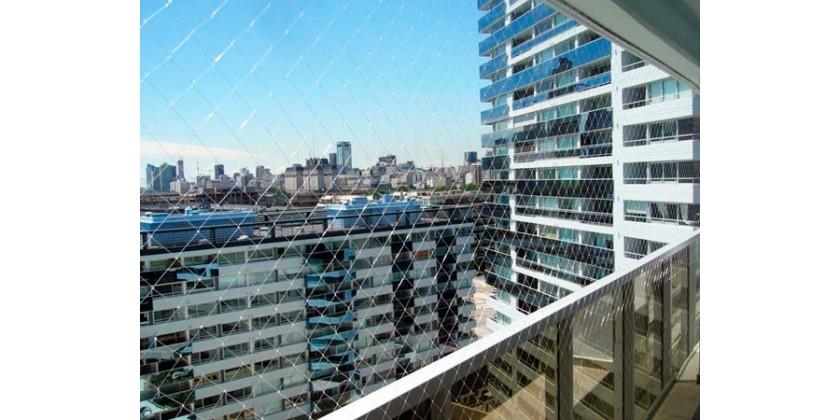 Redes de protecci n para balcones seguridad total para el for Redes de proteccion